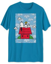 c1597f6e American Eagle Ae Snoopy Graphic Tee in White for Men - Lyst