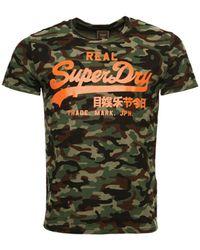 Superdry T-shirt - Green
