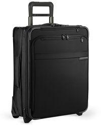 "Briggs & Riley Baseline International 21"" 2-wheel Softside Carry-on Wide-body - Black"