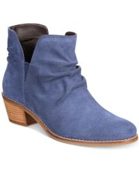 Cole Haan Alayna Slouch Booties - Blue
