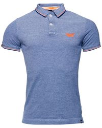 Superdry - Classic Poolside Pique Polo Shirt - Lyst