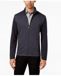 Alfani | Men's Knit Full-zip Jacket | Lyst