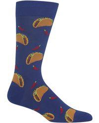 Hot Sox - Tacos Socks - Lyst