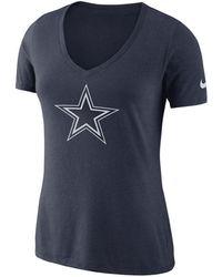 Nike - Dallas Cowboys Tri-fan T-shirt - Lyst