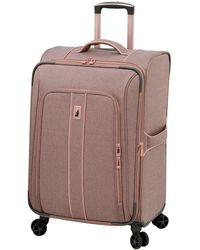 "London Fog Newcastle Softside 28"" Spinner Suitcase - Multicolour"