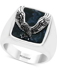 Effy Collection - Pietersite Eagle Ring In Sterling Silver - Lyst