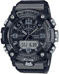 G-Shock Mens Grey Resin Mudmaster Watch, 53.1mm