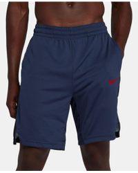 e74fc8effb48 Lyst - Nike Elite Stripe Men ́s Basketball Shorts in Black for Men