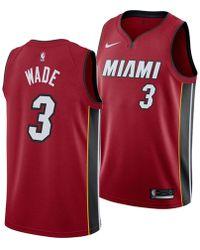 reputable site 5dbcf 86dac adidas Originals Synthetic Men's Miami Heat Dwyane Wade ...