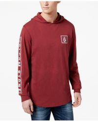 Volcom - Bachman Pullover Hoodie, Created For Macy's - Lyst