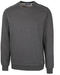 Cutter & Buck Saturday Crew Neck Sweatshirt - Gray