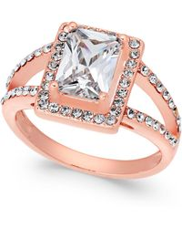 Charter Club - Rose Gold-tone Cubic Zirconia Ring, Created For Macy's - Lyst