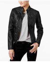 Maralyn & Me - Faux-leather Jacket - Lyst