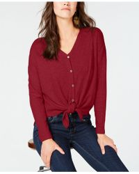 Style & Co. - Thermal-knit Button-front Shirt, Created For Macy's - Lyst