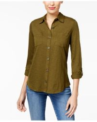 Style & Co. - Utility Shirt - Lyst