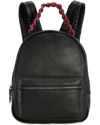 Betsey Johnson Off The Chain Backpack - Black