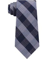Michael Kors - Natte Check Silk Tie - Lyst