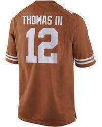 Nike Men's Earl Thomas Texas Longhorns Player Game Jersey - Orange