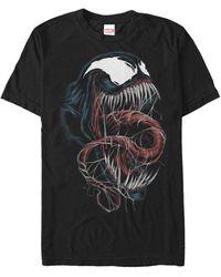 Fifth Sun Venom Big Face Short Sleeve T-shirt - Black