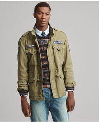 Polo Ralph Lauren Cotton Twill Field Jacket - Green