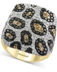 Effy Collection | Diamond Animal Pattern Ring (2-3/8 Ct. T.w.) In 14k Gold | Lyst