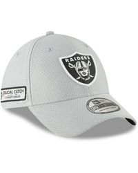 9297cab0 Lyst - KTZ Detroit Lions Crucial Catch 39thirty Cap in Gray for Men