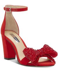 INC International Concepts - I.n.c. Kivah Bow Two-piece Sandals, Created For Macy's - Lyst