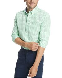 Tommy Hilfiger - Long-sleeve Twain Gingham Check Classic Fit Shirt - Lyst