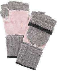 Calvin Klein - Colorblocked Flip-top Gloves - Lyst