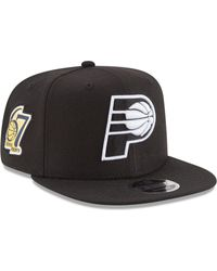 cheaper 9379f fee8b KTZ Indiana Pacers Dark Heather Tipped Bucket Hat in Gray for Men - Lyst