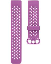 Fitbit Charge 3 Berry Silicone Band - Multicolor