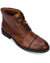 Kenneth Cole Reaction Brewster Jack Boots - Brown