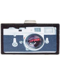 Betsey Johnson Lights, Camera, Bling! Clutch - Multicolor
