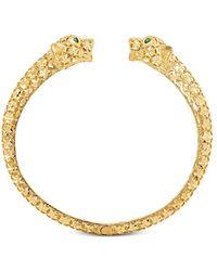 Effy Effy Oro By Effy® Panther Cuff Bracelet In 14k Gold - Metallic