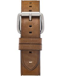 AVI-8 Brown Genuine Leather Strap, 22mm