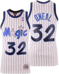 buy popular 10dc3 9aa72 Mitchell & Ness Synthetic Penny Hardaway Orlando Magic ...