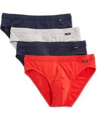 Jockey - Stretch Tagless Bikini Briefs, 4 Pack - Lyst