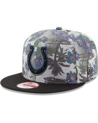 new products 71be8 60e8c ... new style ktz indianapolis colts cool breeze trop 9fifty snapback cap  lyst 1fb08 d2fcd