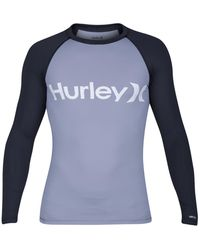 Hurley - Men's One And Only Graphic-print Rash Guard - Lyst