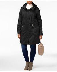 Cole Haan - Signature Plus Size Packable Unlined Raincoat - Lyst