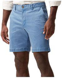 Tommy Bahama Men?s Boracay 8? Chino Shorts - Blue
