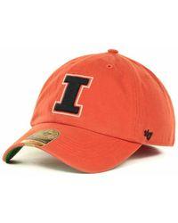 best sneakers f16f5 b3d26 47 Brand - Illinois Fighting Illini Franchise Cap - Lyst