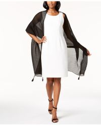 INC International Concepts - Tassel Pleated Wrap - Lyst