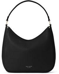 Kate Spade Roulette Large Hobo Bag - Black