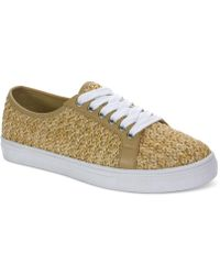 Tahari - Gene Lace-up Trainers - Lyst