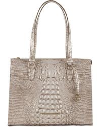Brahmin Anywhere Tote Melbourne Embossed Leather Tote - Multicolor