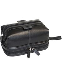 Dopp Country Saddle Cowhide Travel Kit - Black
