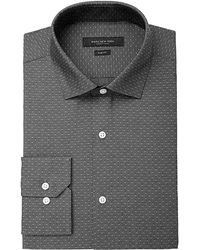 Marc New York - Men's Slim-fit Wrinkle-free Micro Check Dress Shirt - Lyst