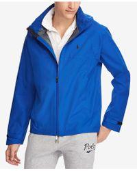 Polo Ralph Lauren - Men's Waterproof Hooded Jacket - Lyst