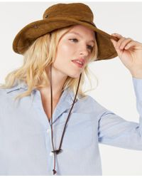 Frye Canvas Camper Hat - S/m - Multicolor